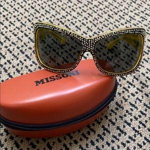 Missoni Swarovski sunglasses